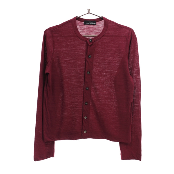 [COMME DES GARCONS]   울100% 가디건( MADE IN JAPAN )[SIZE : WOMEN M]