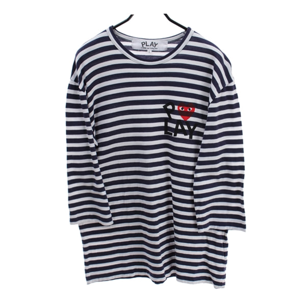 [COMME DES GARCONS]   코튼 3/4 슬리브( MADE IN JAPAN )[SIZE : MEN L]