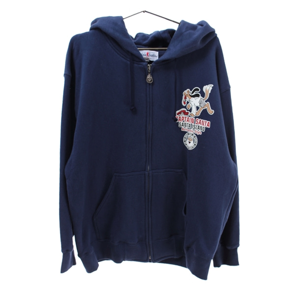 [CAPTAIN SANTA]   코튼 후드 집업 자켓( MADE IN JAPAN )[SIZE : WOMEN M]
