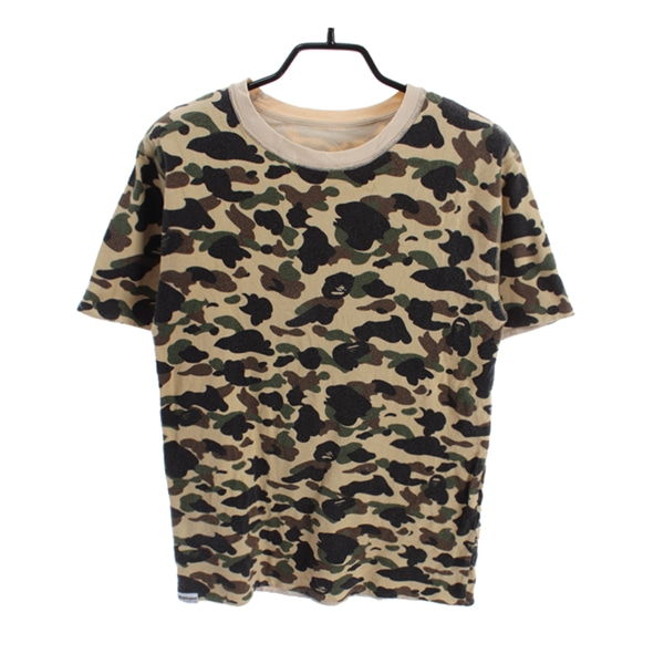 [BAPE]   코튼 반팔 티셔츠( MADE IN JAPAN )[SIZE : MEN S]